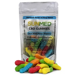 Sunmed CBD isolate gummies