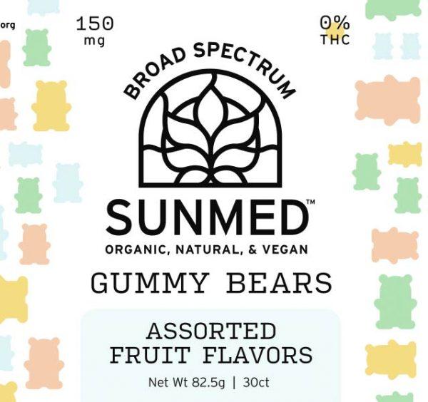 sunmed vegan gummy bears vegan gummies organic cbd edibles fort worth