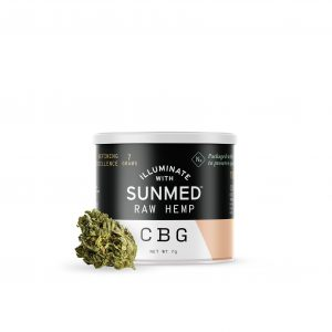 Sunmed CBD Flower CBG Rich 7 Grams